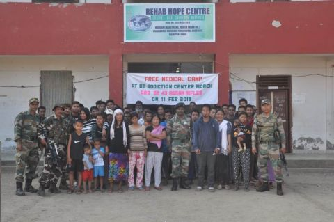 Moreh Battalion conducted Drug De-Addiction Drive