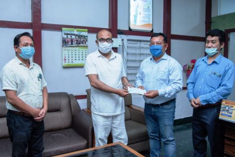 DIPR staffs donate one-day salary to CM's COVID-19 relief fund
