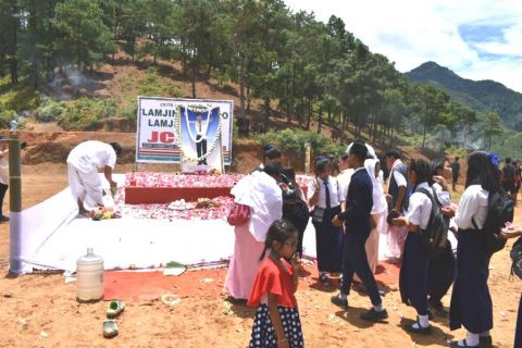 Fitting tribute paid to Sapam Robinhood on 3rd Death Anniversary