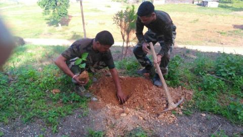 Assam Rifles Organises seminar on Jal Shakti Abhiyan in Chandel