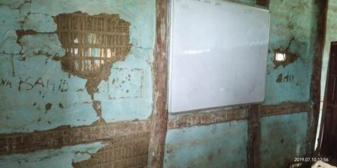 AMMSO volunteers found huge lack of facilities in Rahmania High School Kshetrigao
