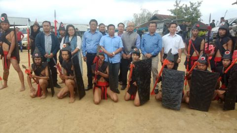 Ringui Village Authority donates 600 acre of land to state Forest Department
