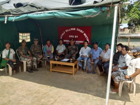 AR organises monthly village chief meeting at T-minou