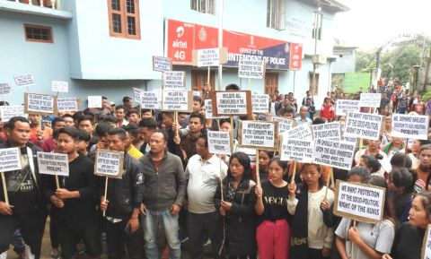 Kukis staged a mass rally to keep their land intact