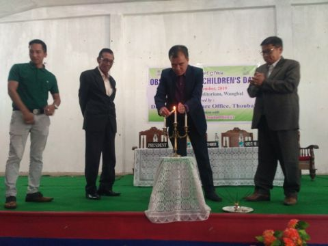 "DSWO Thoubal observed ""Children's Day"""