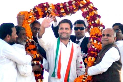 Rahul Gandhi is the new Congress Chief; elected as president unopposed