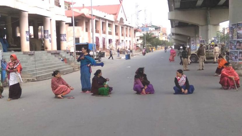 30 hours bandh demanding ST status for Meetei/Meitei severely affects normalcy in Valley districts of Manipur