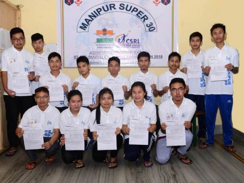 Indian Army 'Manipur Super 30' 16 out of 18 students clears IIT/JEE Mains
