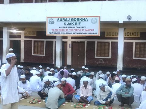 Assam Rifles Organises Iftar Party