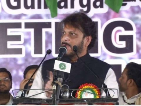 Ex AIMIM MLA Waris Pathan comes under fire, multiple cases filed for hate speech