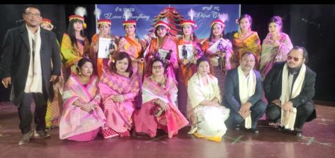 Fashion Show cum Beauty Contest held in connection with Ningol Chakkouba at Shillong