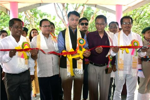 Education Minister inaugurates new classrooms of C. I. College