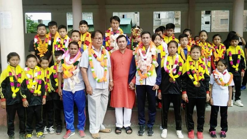 Manipur bagged 2nd Runner-up in National Sub junior and Pre teen Pencak Silat Championship