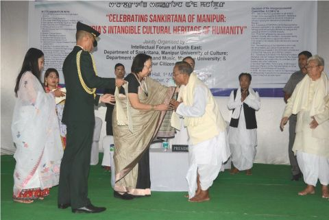 Governor inaugurates 'Celebrating Sankirtana of Manipur: India's Intangible Cultural Heritage of Humanity'