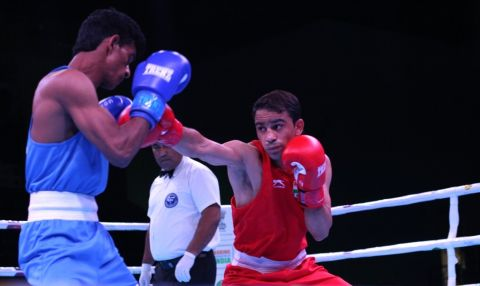 BFI announces squad for AIBA Men's World Championships