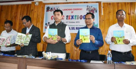 Education Minister launches comic textbook on Environmental Studies