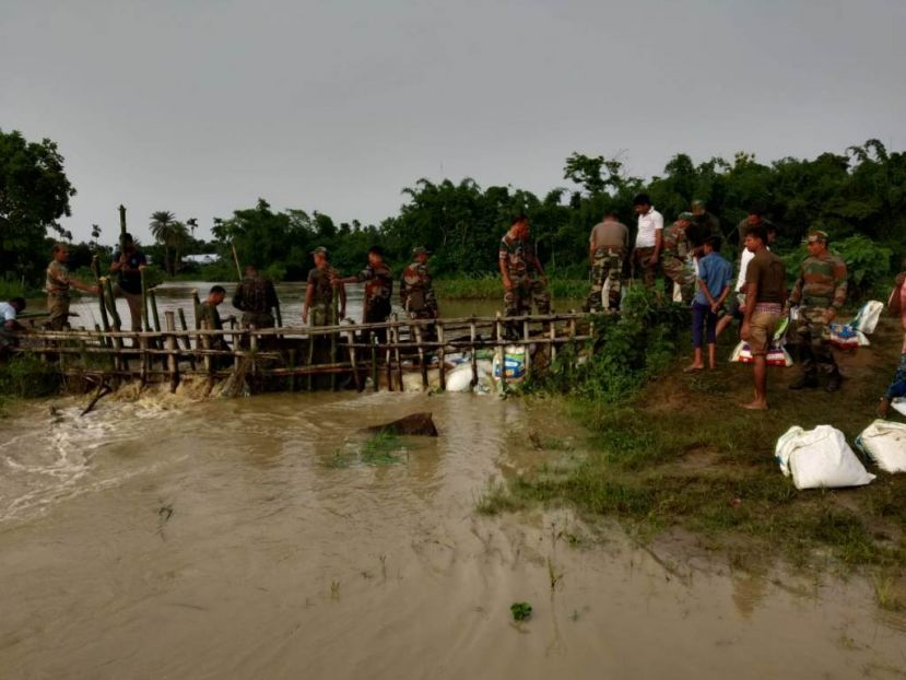 Army gear up for worsening floods in Assam