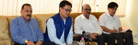 Unless we receive a concrete proposal from the state government, nothing can be done - Rijiju