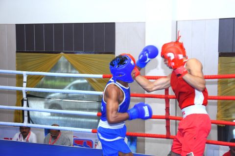 3rd Youth Boxing Nationals 180 women boxers and 248 men boxers from 32 states are participating