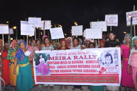 Relay hunger strike, torch rally continue demanding justice for Babysana