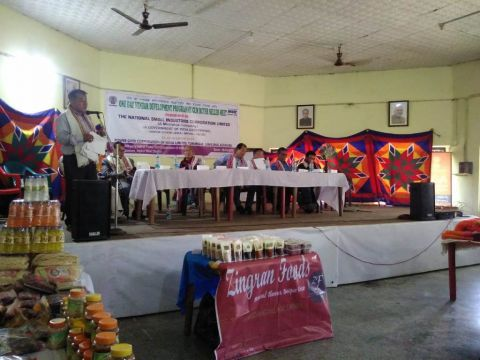 Buyer Seller Meet held at Yurembam