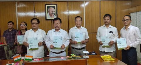 Tribal Affairs Minister releases Manipur ST Commission's Book