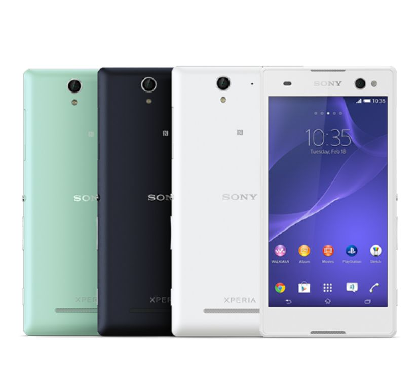 Xperia™ C3 – the world's best selfie smartphone