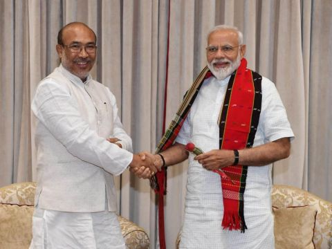 Political crisis in Manipur continues: CM N. Biren meets PM; Minister Bishwajit still camping at New Delhi