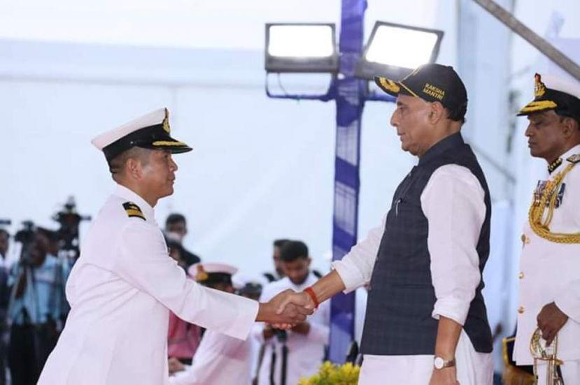 Comdt. Ngamlien Touthang, a brave son of Manipur conferred Bravery Award by Defence Ministry