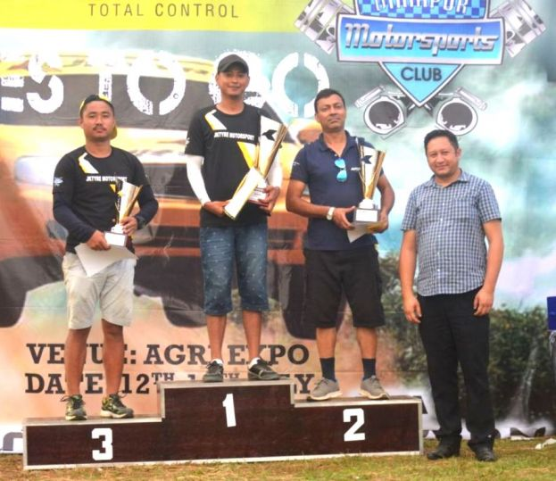 Double for Babit, 3 runner-up places for Sandeep in DMSC 2018 Autocross