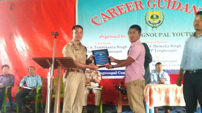 Career Guidance Programme at Tengnoupal