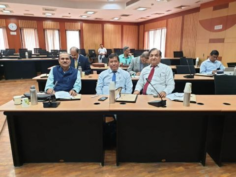 Dr. A. Santa attended Vice-Chancellor meet