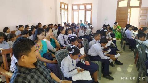 Quiz competition held at Jiribam