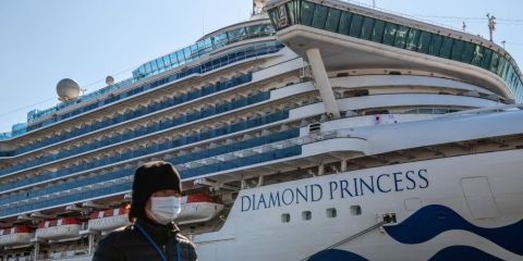 "One more Indian test positive for Coronavirus on board ""Diamond Princess"""